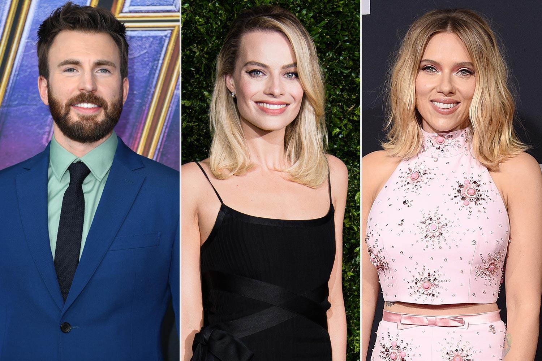 Chris Evans; Margot Robbie; Scarlett Johansson