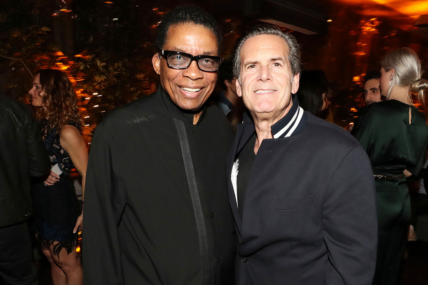 Herbie Hancock and Bruce Eskowitz