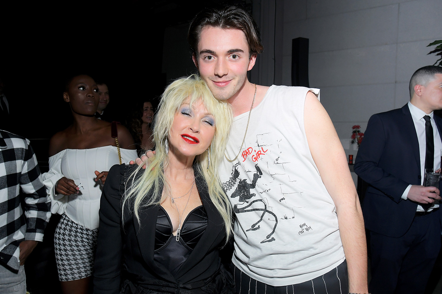 Cyndi Lauper and Greyson Chance