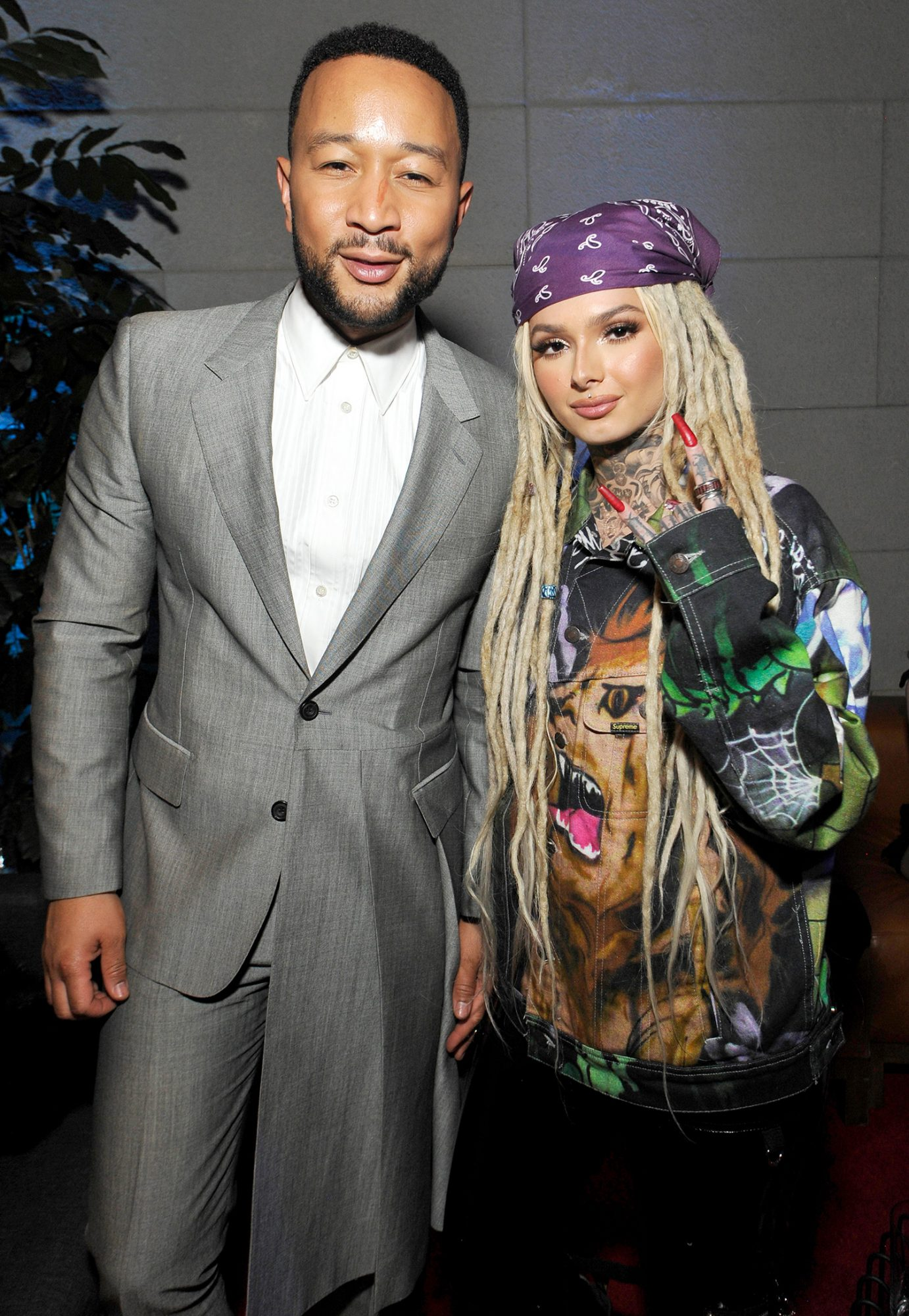 John Legend and Zhavia