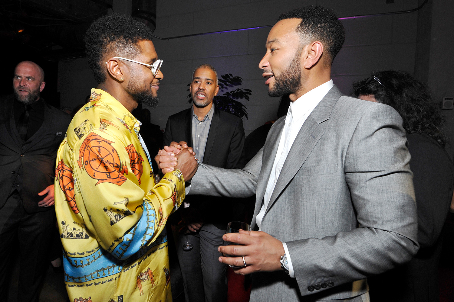 Usher and John Legend