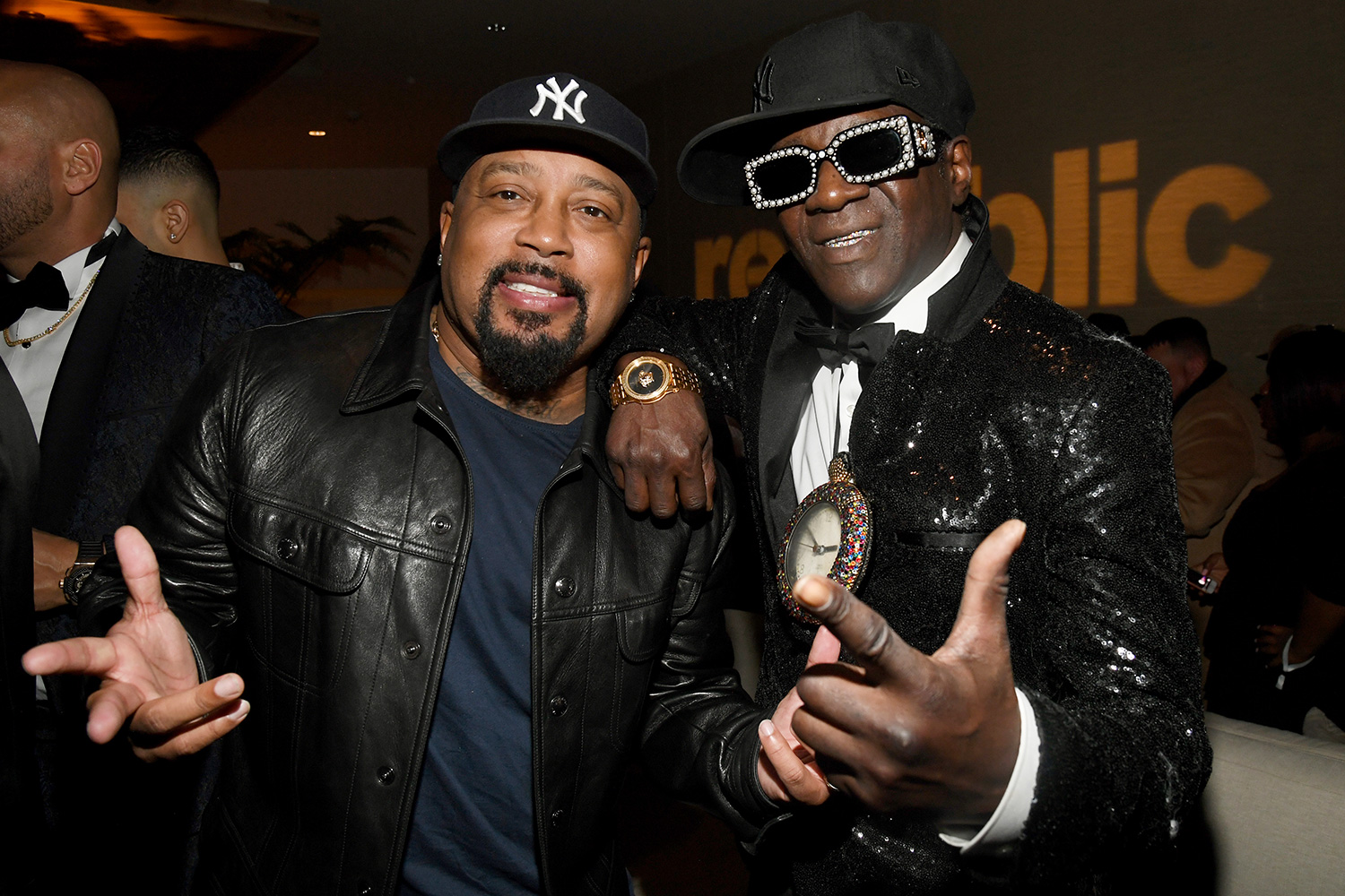 Daymond John and Flavor Flav