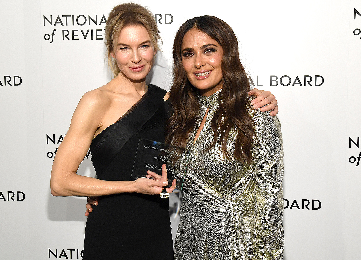 Renee Zellweger and Salma Hayek Pinault