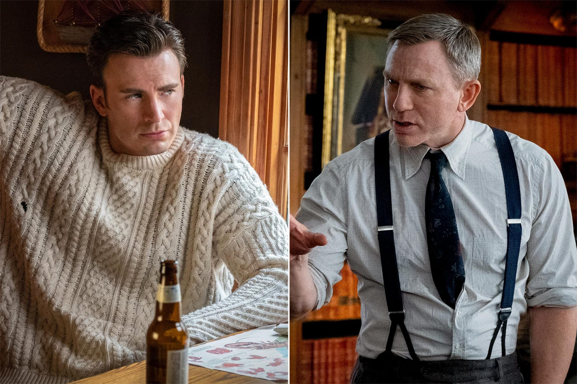Knives Out Chris Evans Knives Out Daniel Craig