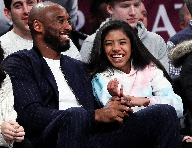 Kobe Bryant and his daughter Gigi