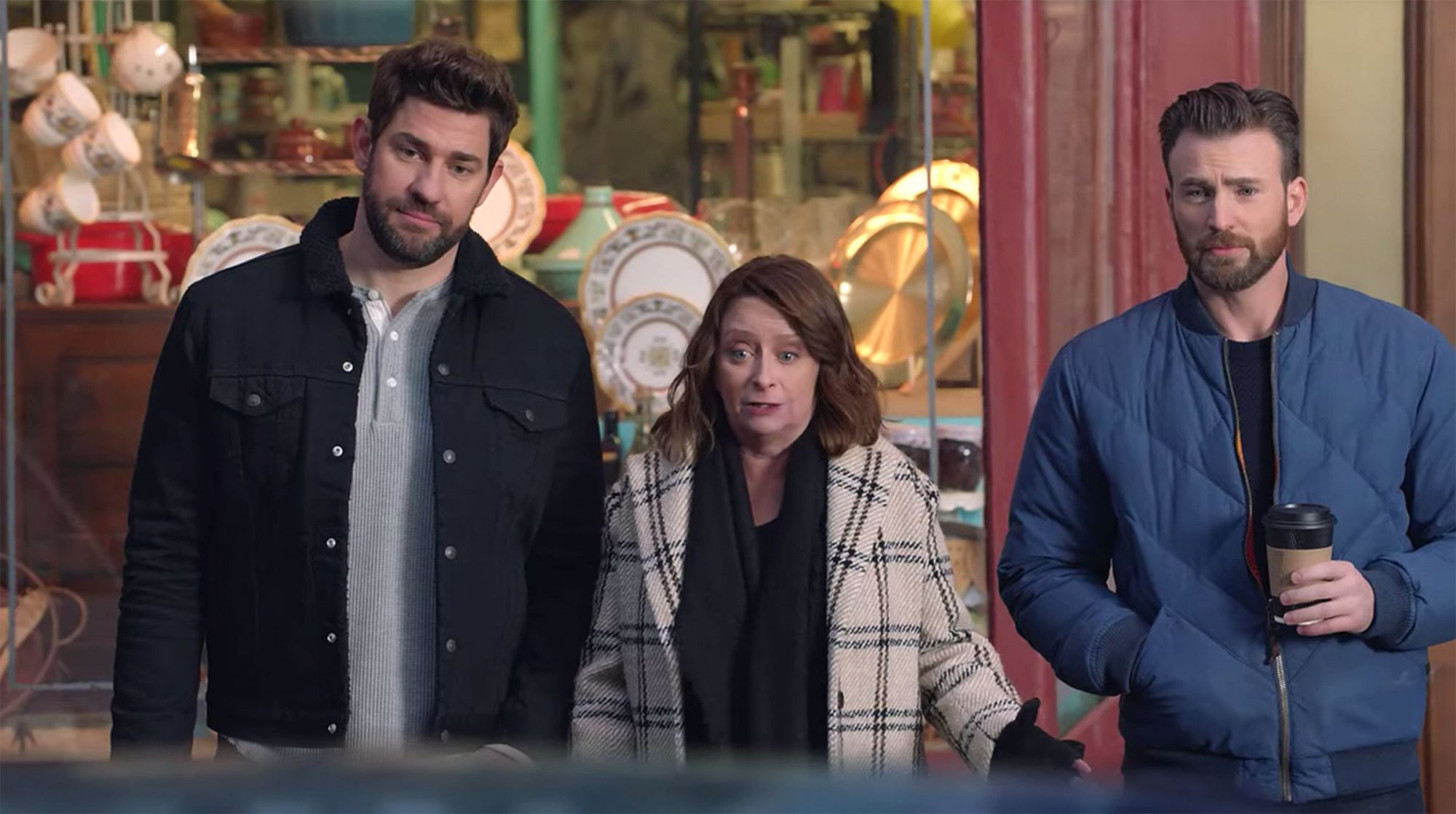 John Krasinski, Rachel Dratch, Chris Evans Hyundai Super bowl