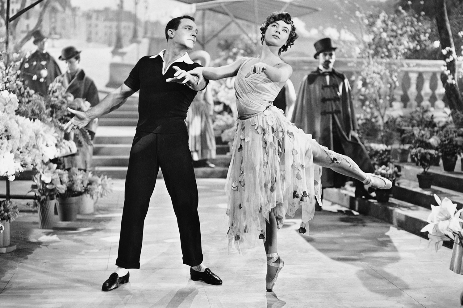 Gene Kelly and Leslie Caron in An American in Paris