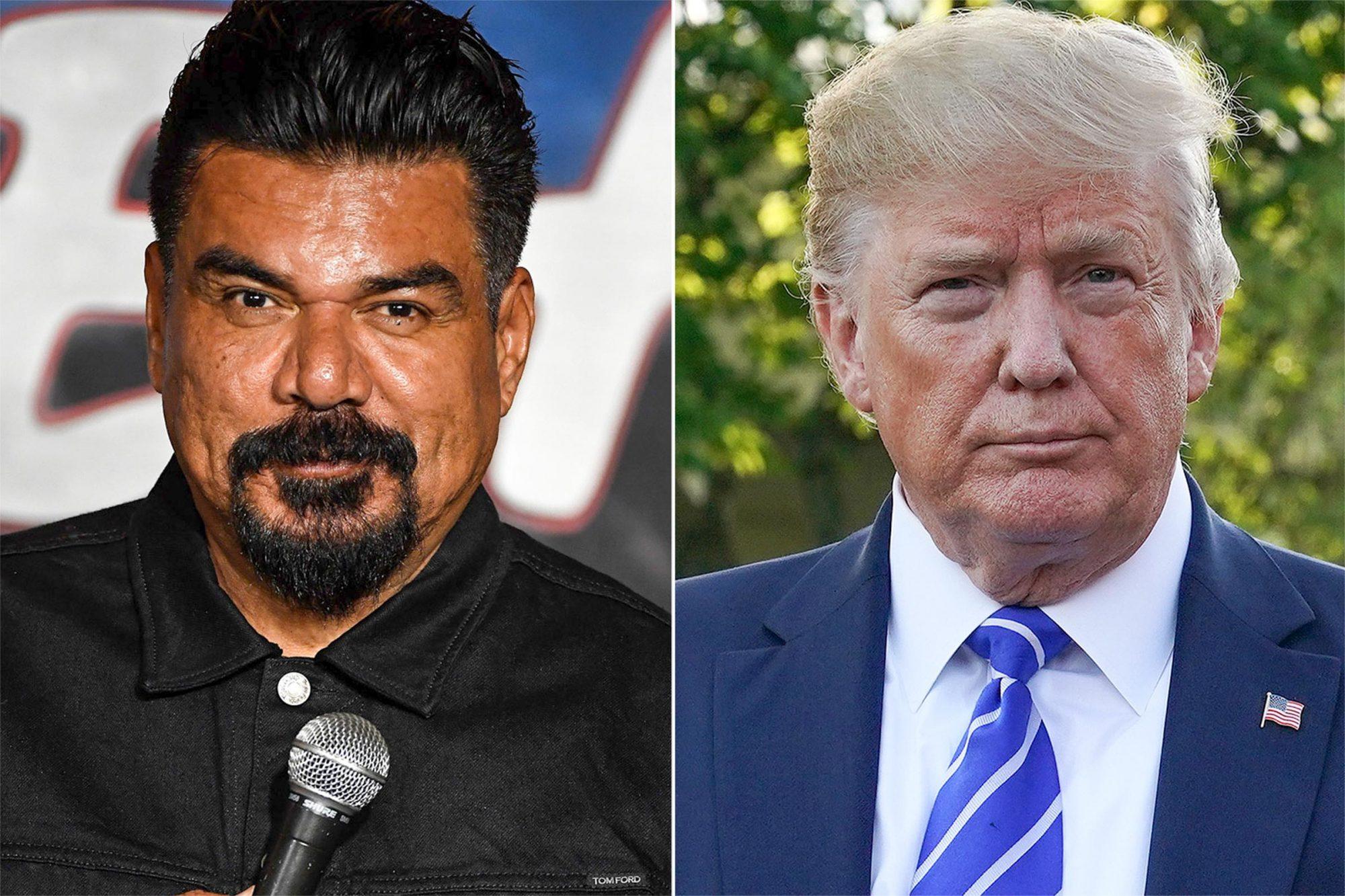 George Lopez / Donald Trump