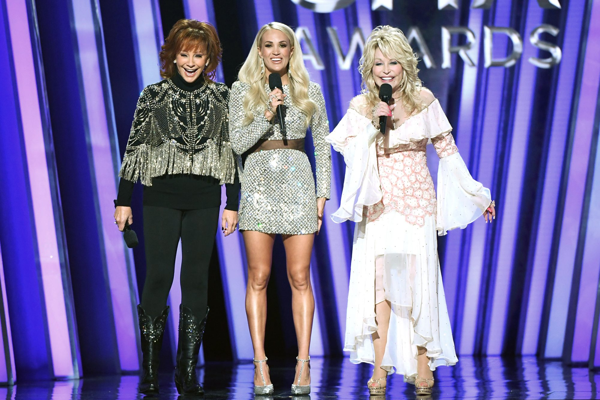 Reba McEntire; Carrie Underwood; Dolly Parton