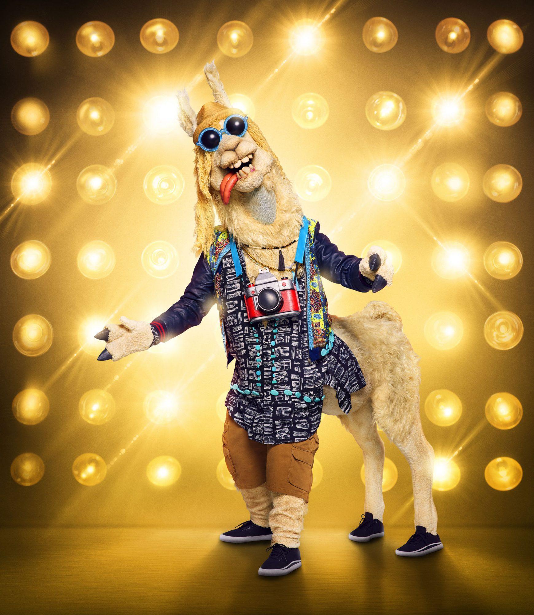 THE MASKED SINGER: The Llama. CR: Michael Becker / FOX. © 2020 FOX MEDIA LLC.