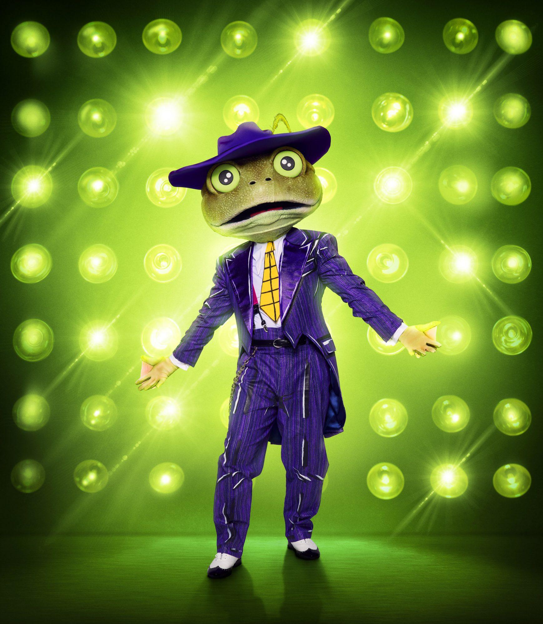 THE MASKED SINGER: The Frog. CR: Michael Becker / FOX. © 2020 FOX MEDIA LLC.