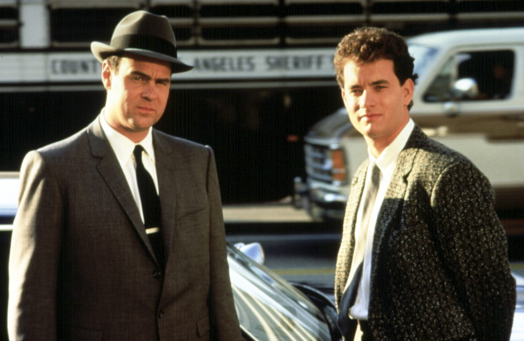 DRAGNET, Dan Aykroyd, Tom Hanks, 1987