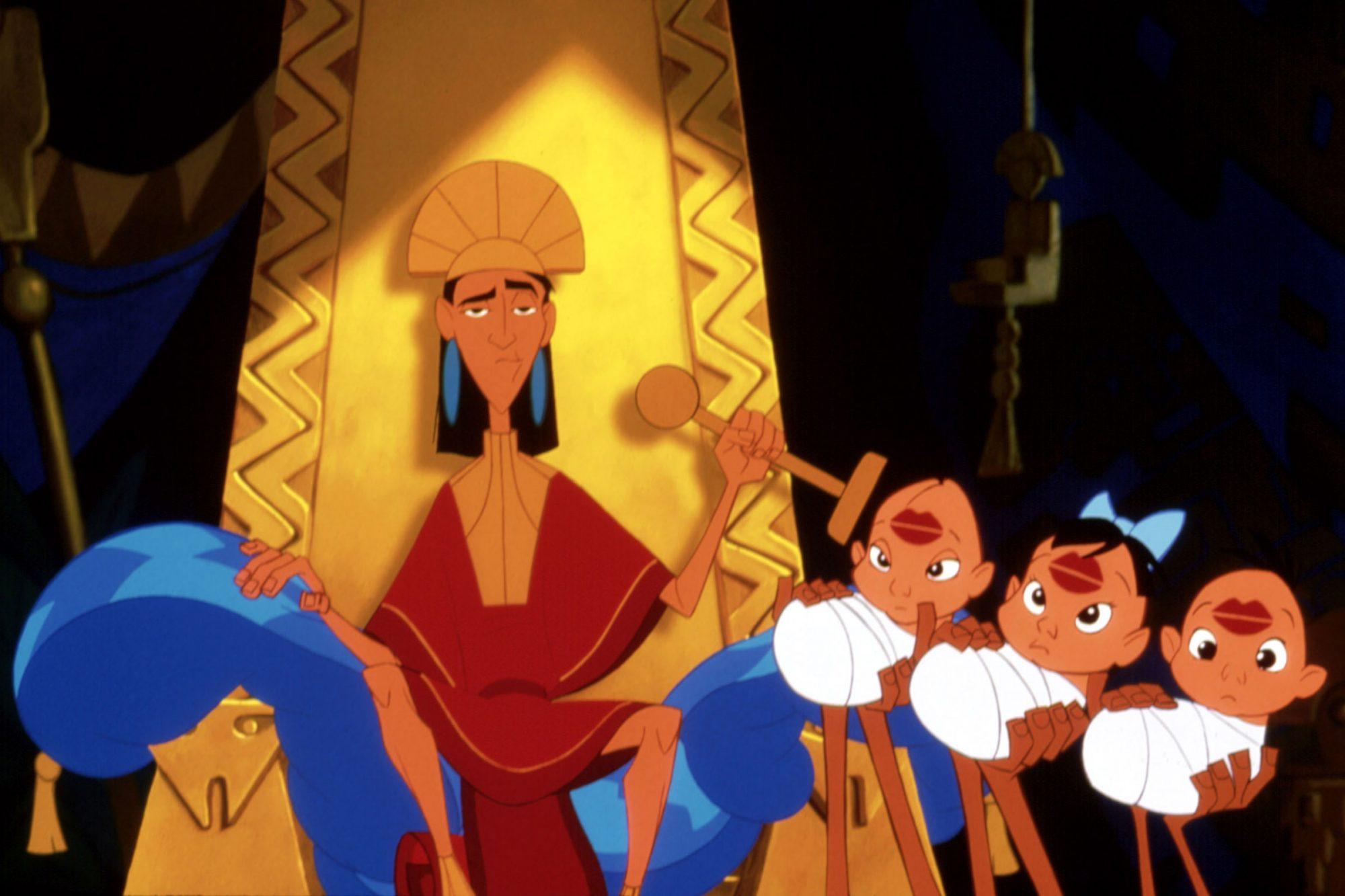 EMPEROR'S NEW GROOVE, Emperor Kuzco (left), 2000