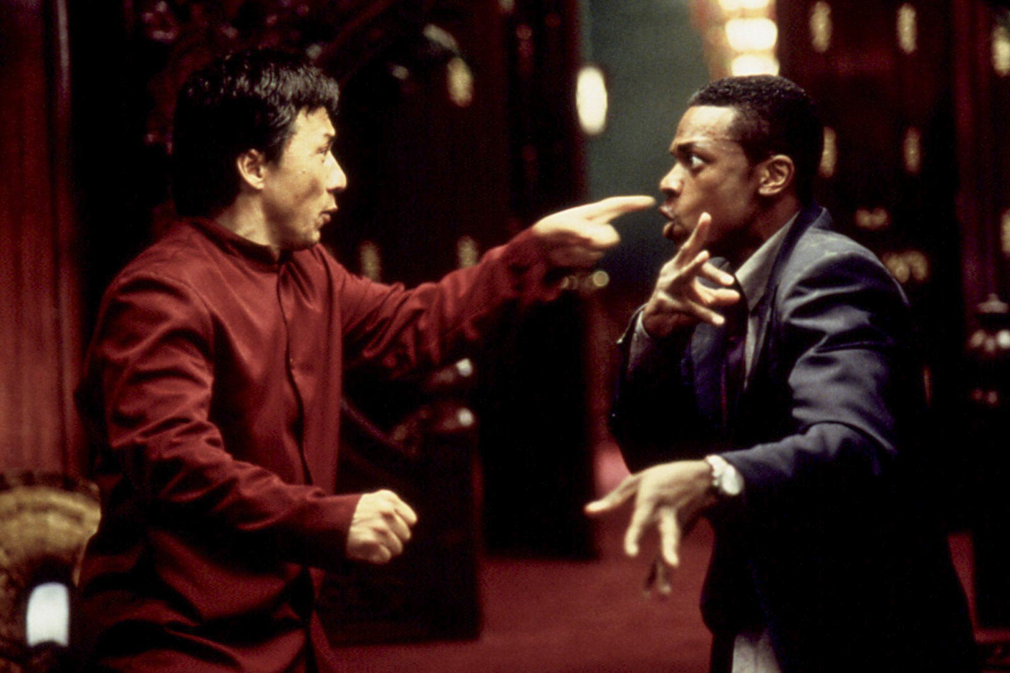 RUSH HOUR, Jackie Chan, Chris Tucker, 1998