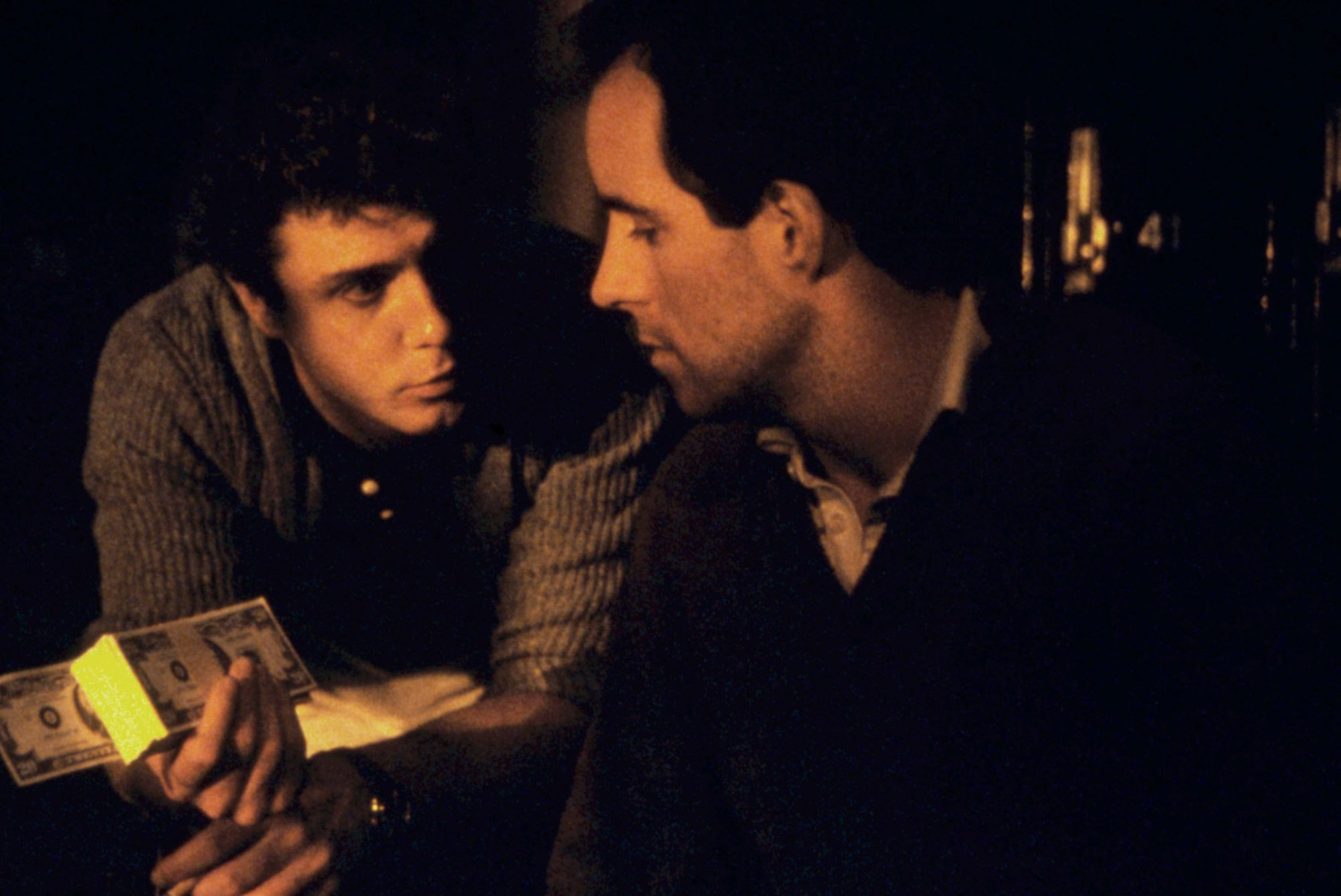 TO LIVE AND DIE IN L.A., William Petersen, John Pankow, 1985