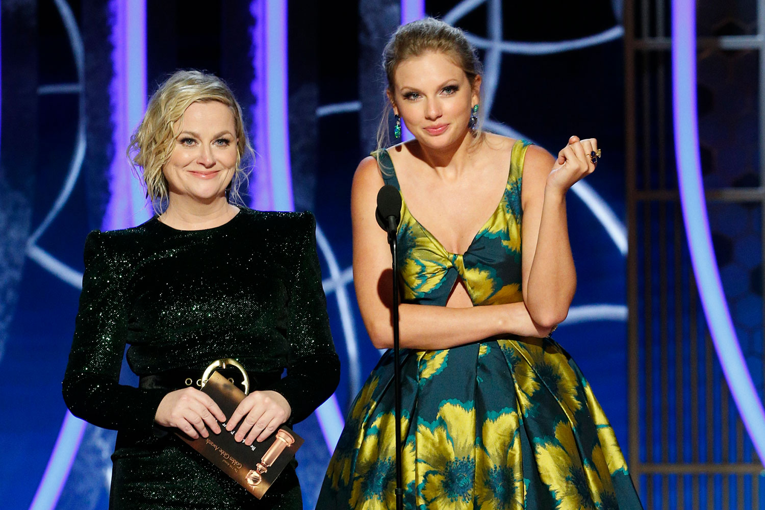 Amy Poehler and Taylor Swift