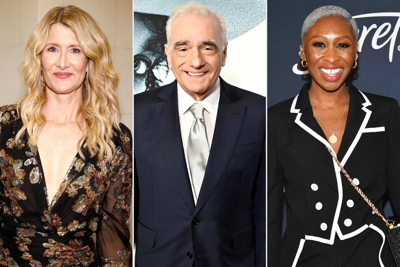 Laura Dern; Martin Scorsese; Cynthia Erivo