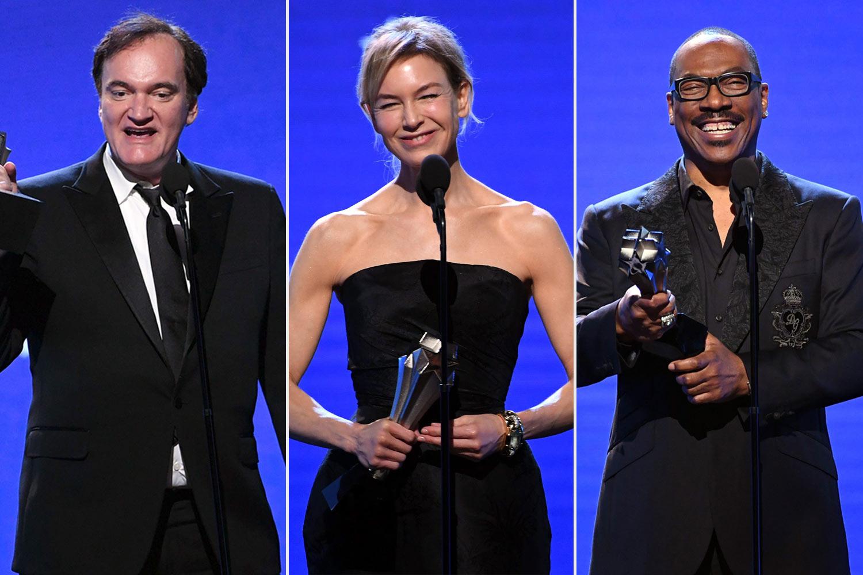 Quentin Tarantino, Renée Zellweger, Eddie Murphy