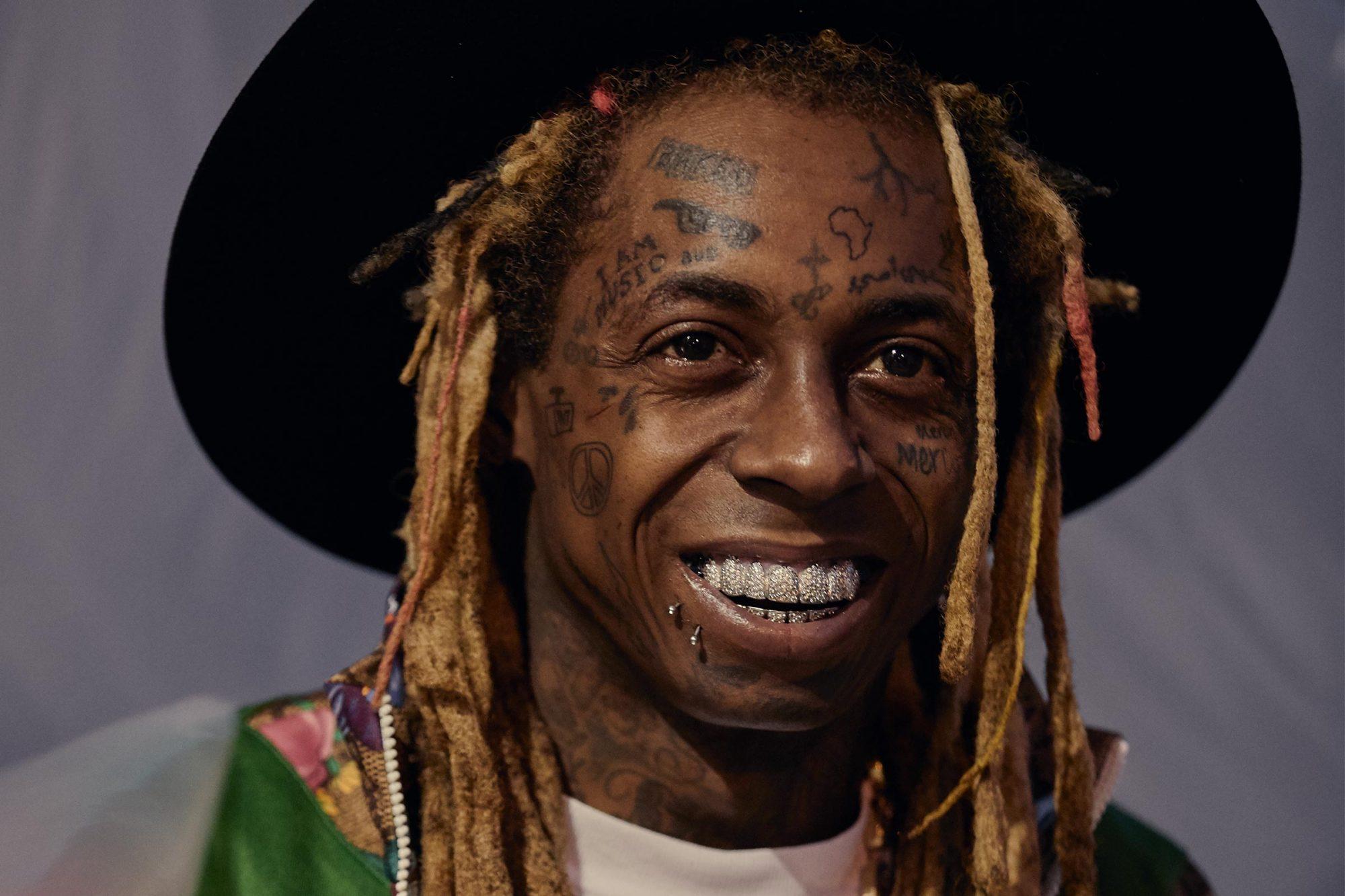 Lil Wayne promo art