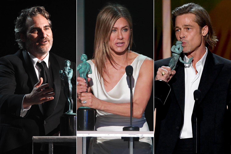 Joaquin Phoenix , Jennifer Aniston, Brad Pitt