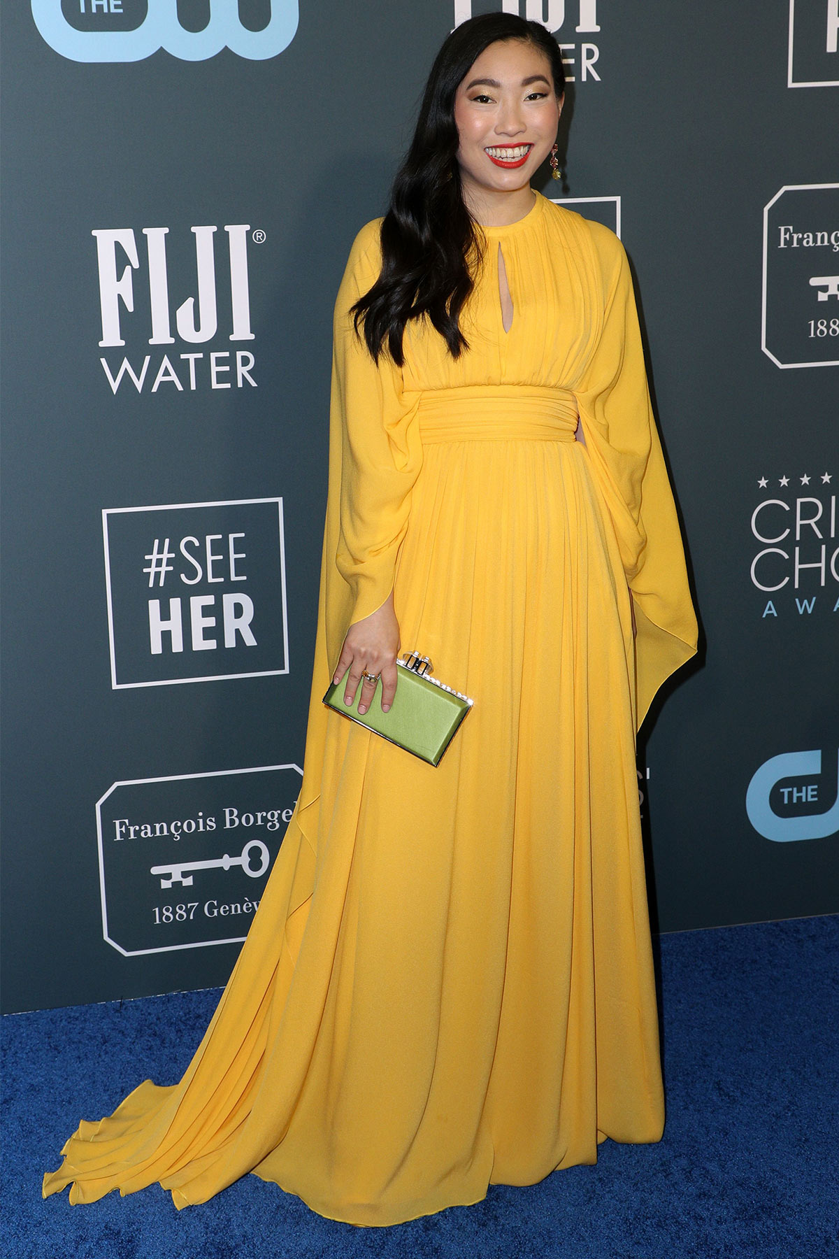 25th Annual Critics' Choice Awards, Arrivals, Fashion Highlights, Barker Hanger, Los Angeles, USA - 12 Jan 2020
