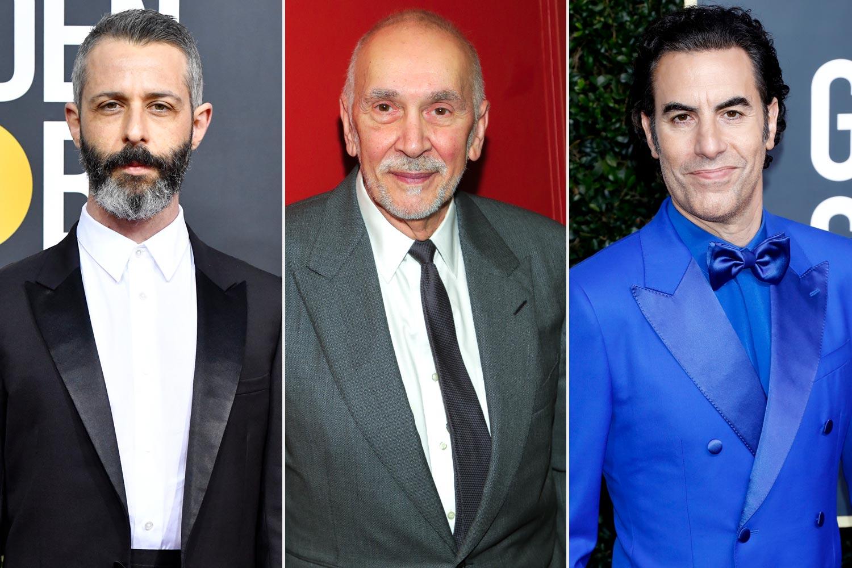 Jeremy Strong; Frank Langella; Sacha Baron Cohen