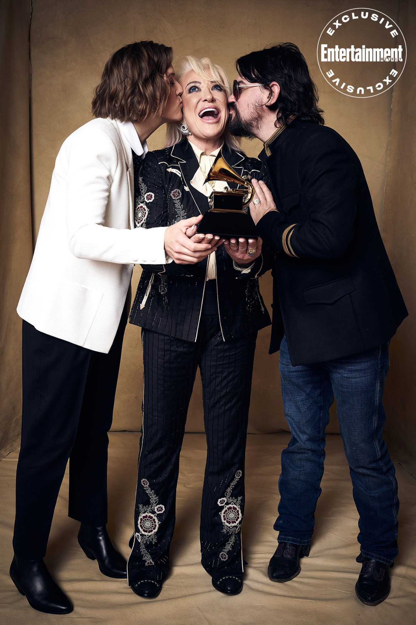 Brandi Carlile, Tanya Tucker, and Shooter Jennings
