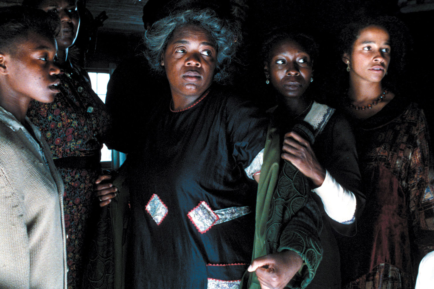 THE COLOR PURPLE, Oprah Winfrey, Whoopi Goldberg, Rae Dawn Chong, 1985, (c) Warner Brothers/courtesy