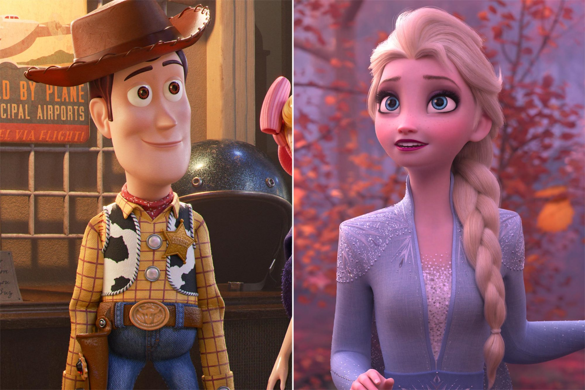 Toy Story 4 / Frozen 2
