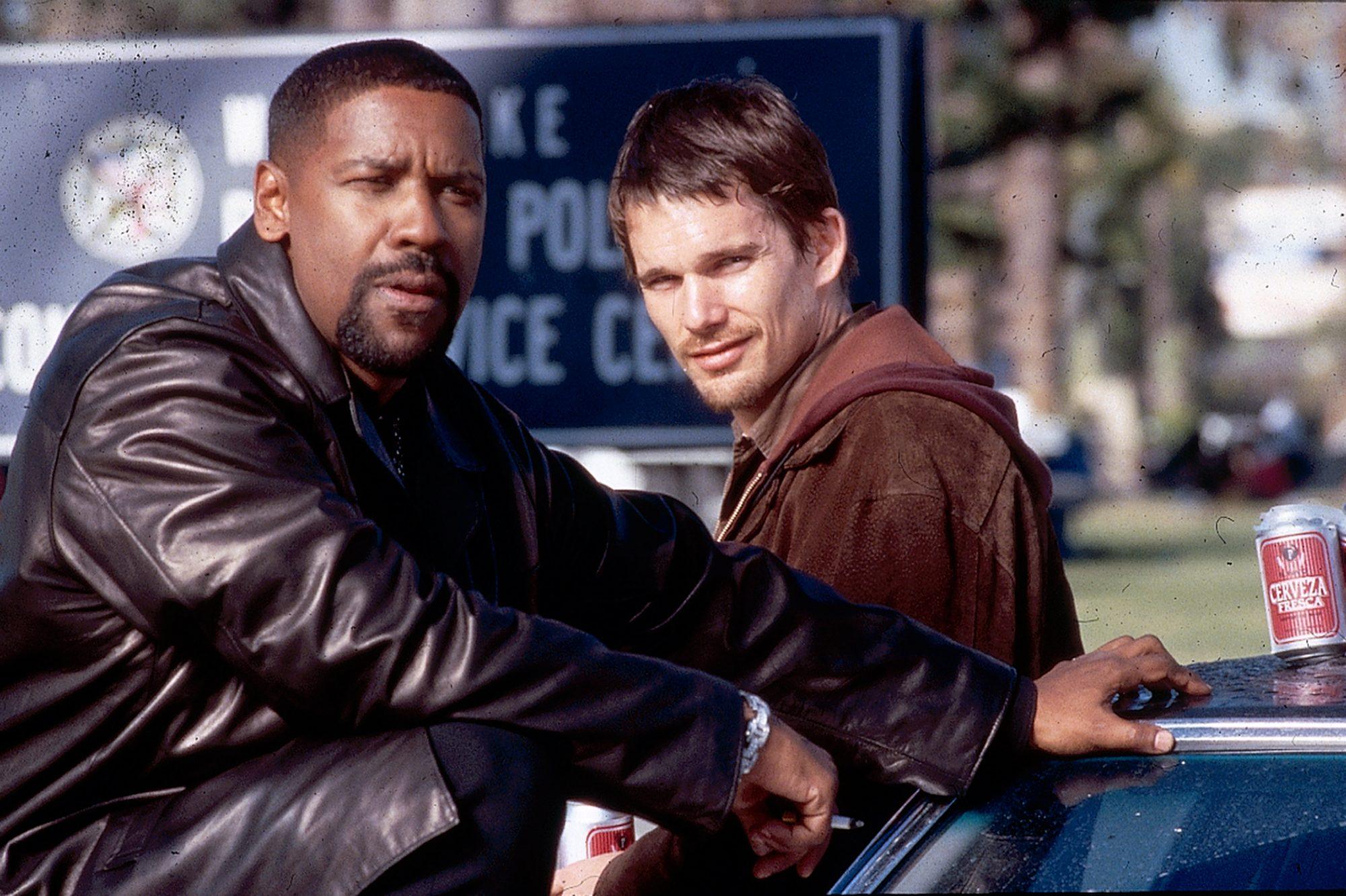 Training Day (2001)Denzel Washington (L) and Ethan Hawke