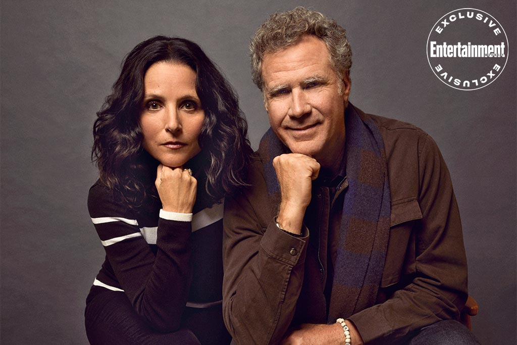 Julia Louis Dreyfus and Will Ferrell