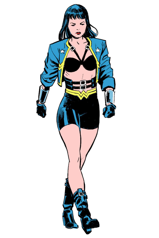 Wonder Woman Costume Evolution