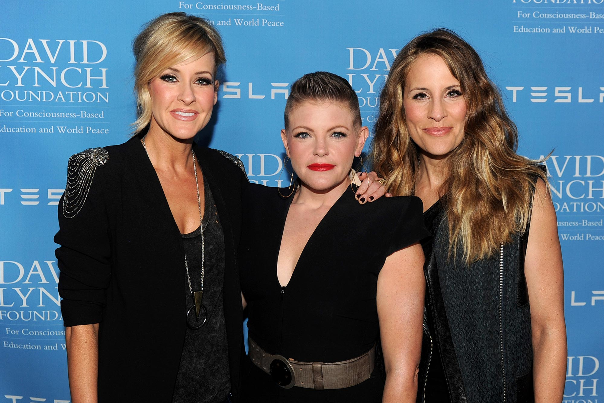 Martie Maguire, Natalie Maines and Emily Robison of the Dixie Chicks