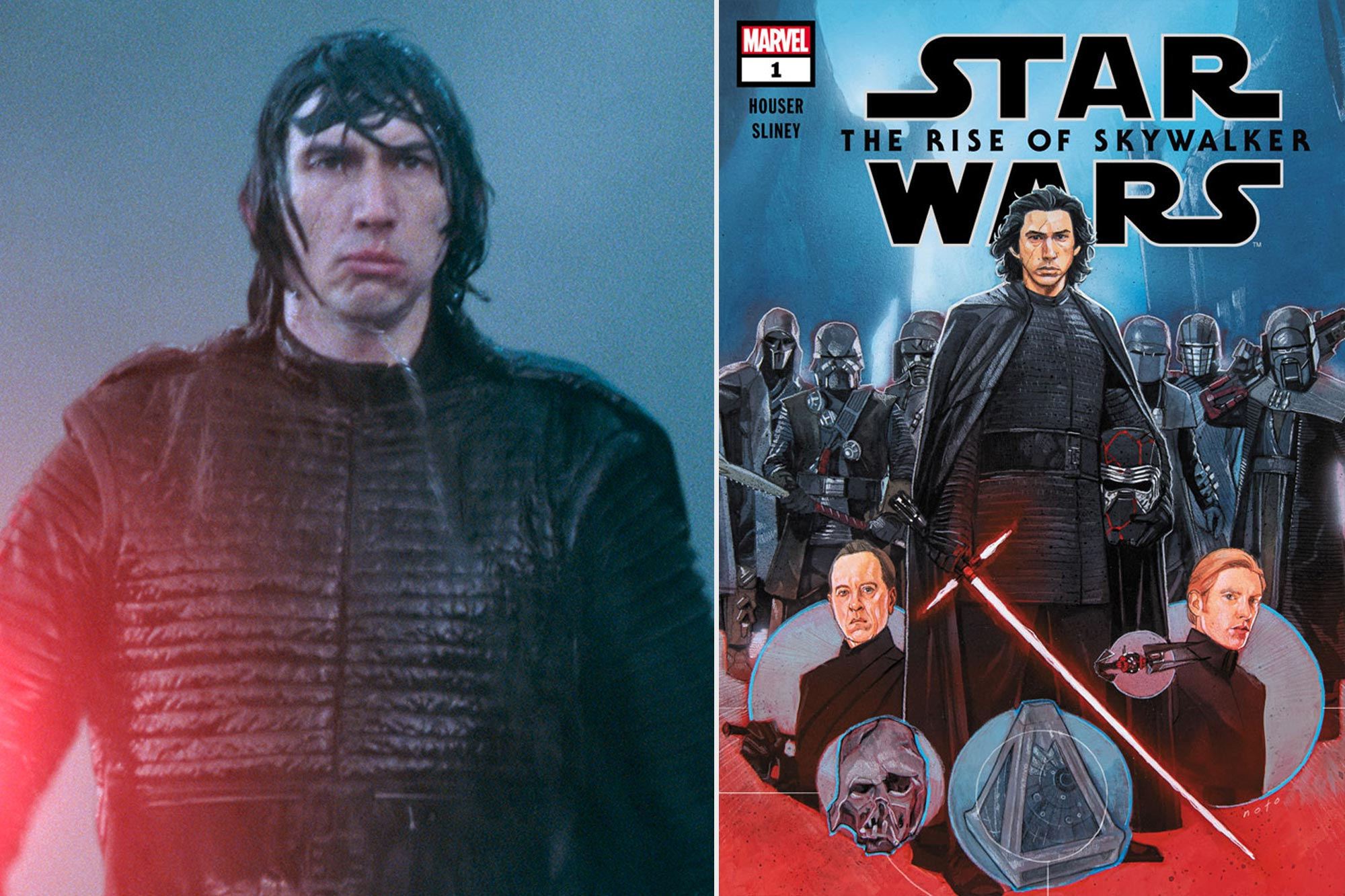 Star Wars The Rise Of Skywalker Deleted Scenes Coming To Comic Book Ew Com