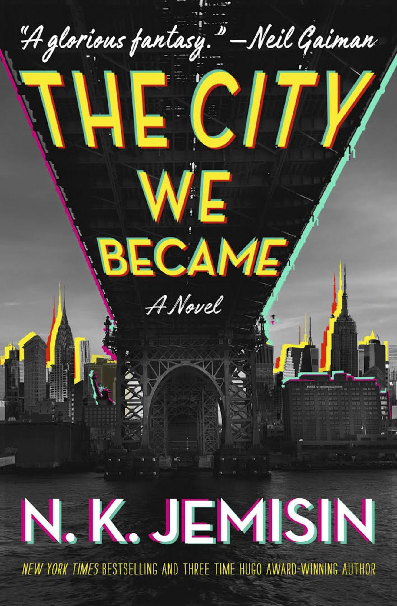 The City We Became by N.K. Jemisin CR: Orbit
