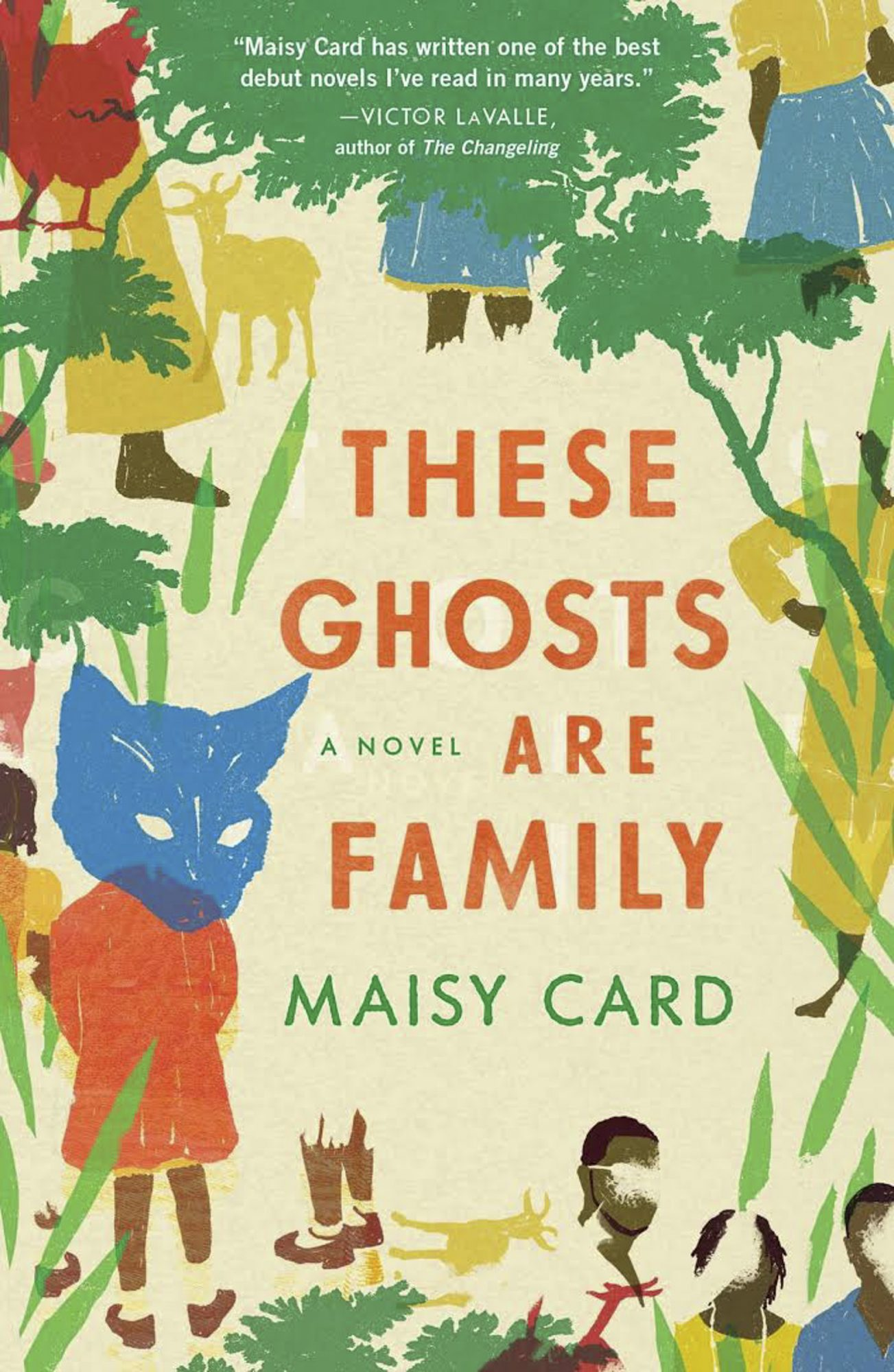 These Ghosts Are Family by Maisy Card CR: Simon and Schuster