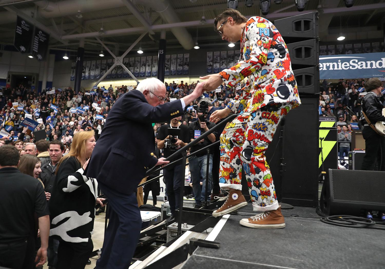 Bernie Sanders; The Strokes