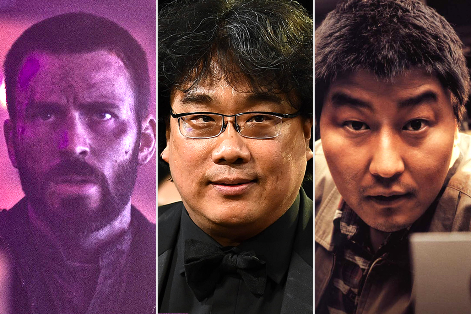 Chris Evans; Bong Joon Ho; Song Kang-ho