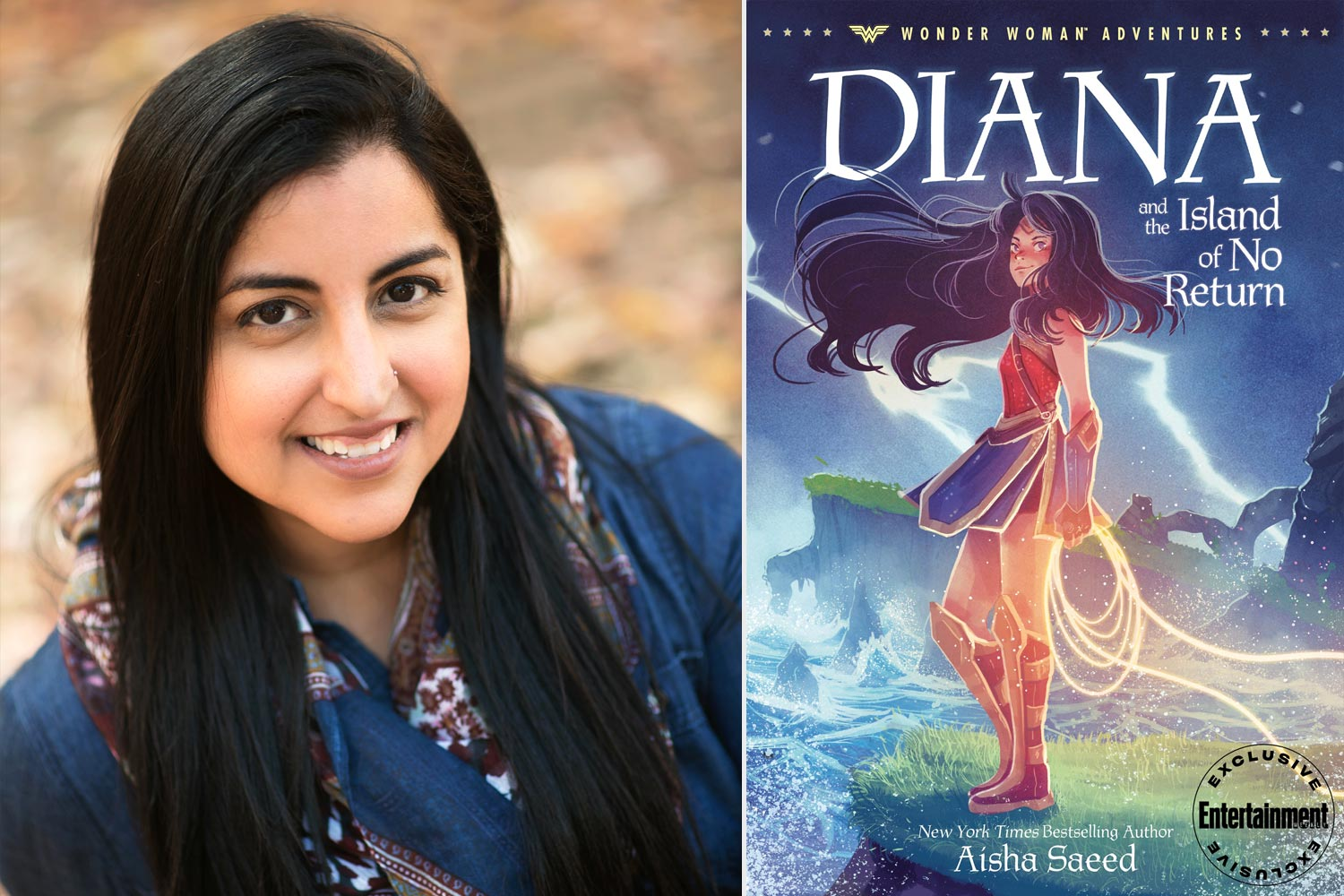 Diana and the Island of No Return by Aisha Saeed