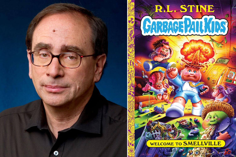 R.L. Stein; Garbage Pail Kids