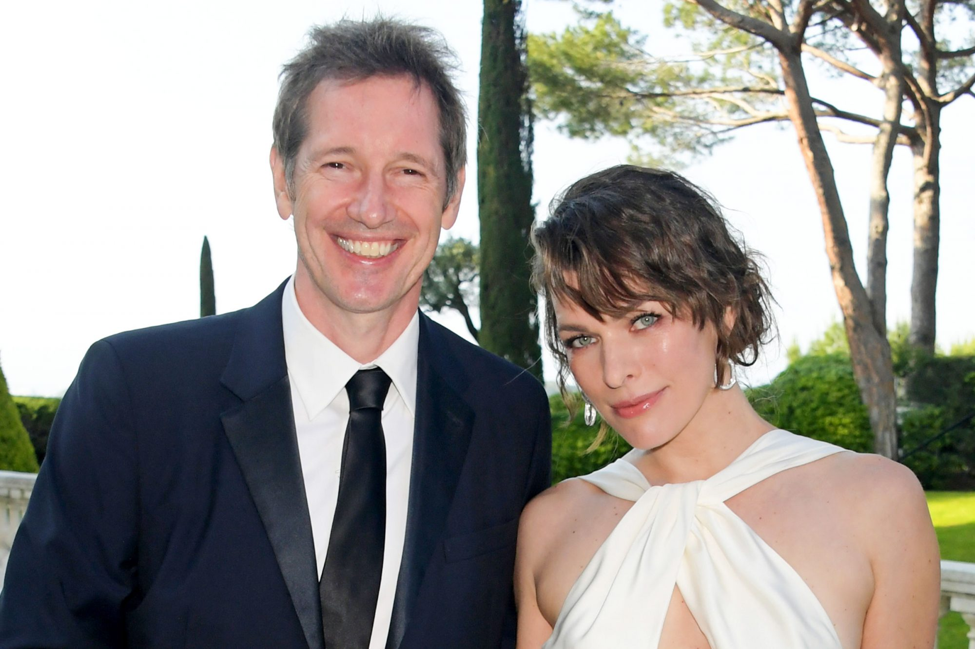 Paul W. S. Anderson and Milla Jovovich