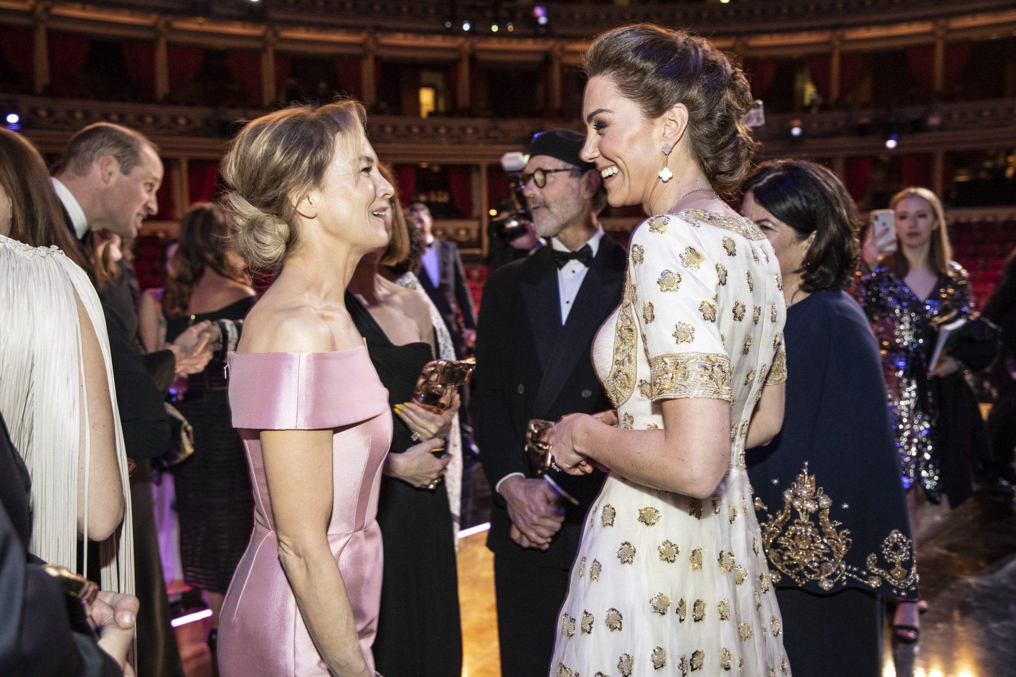 Renee Zellweger and Catherine, Duchess of Cambridge