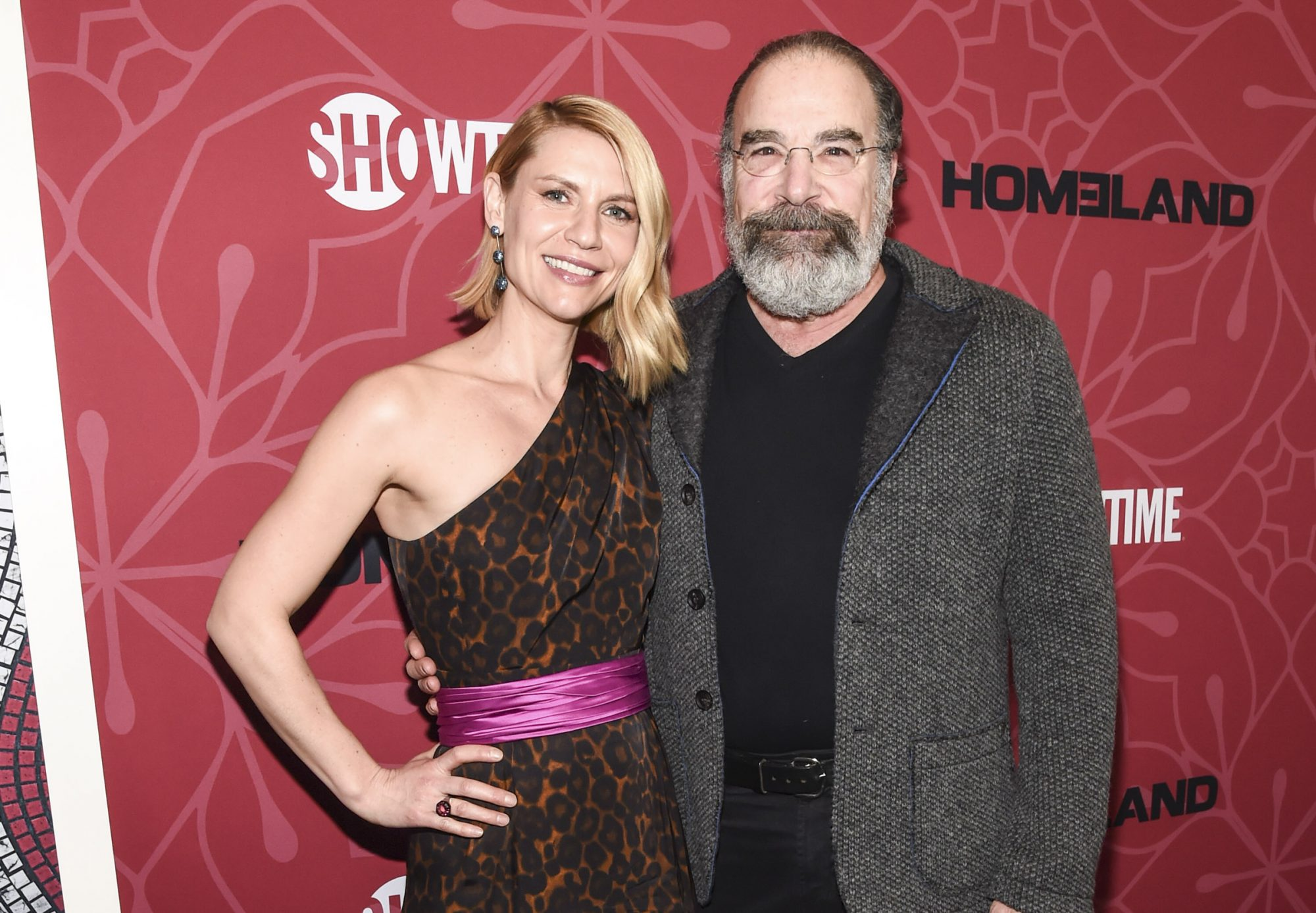 Claire Danes and Mandy Patinkin