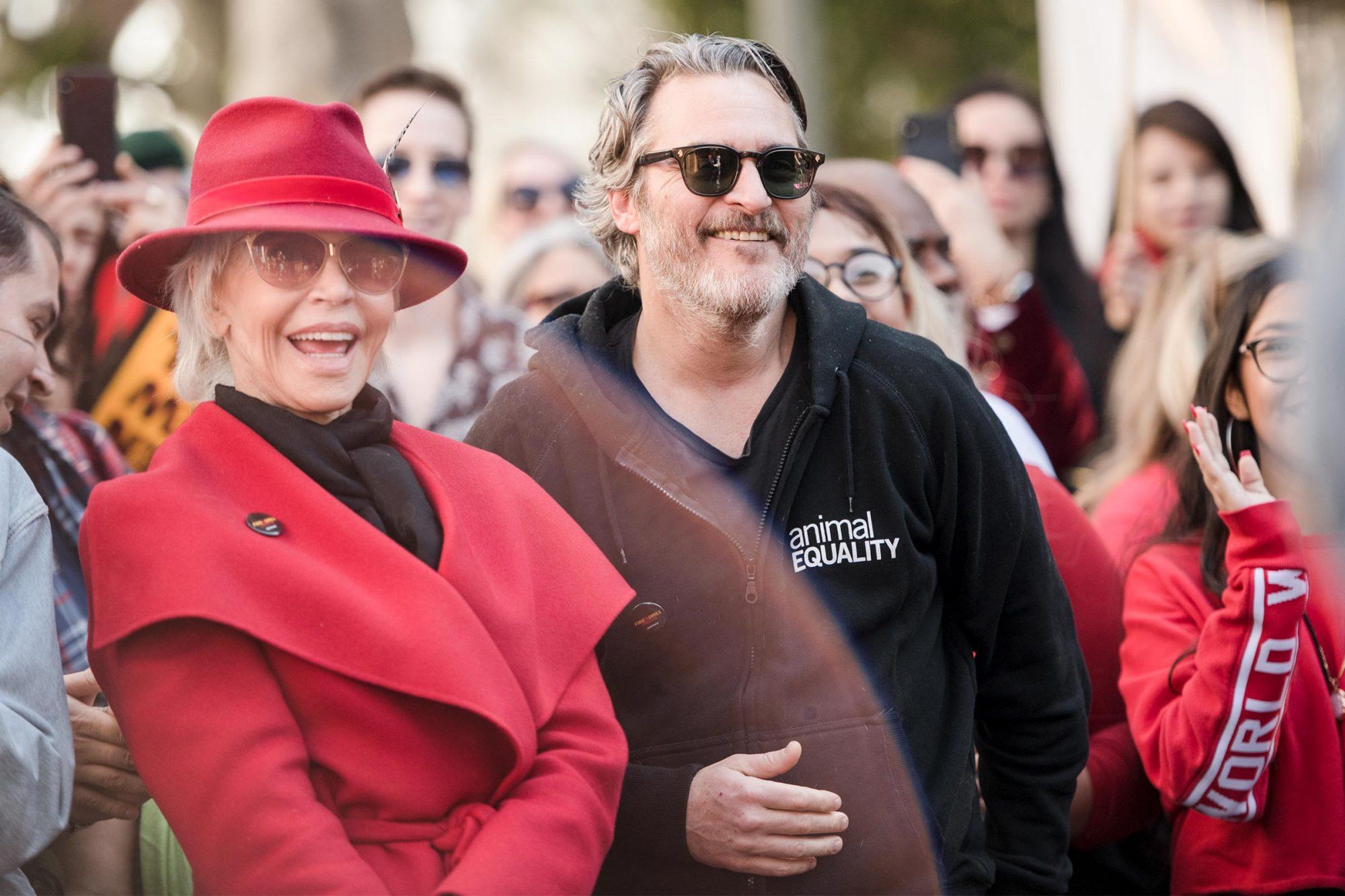 Joaquin Phoenix and Jane Fonda