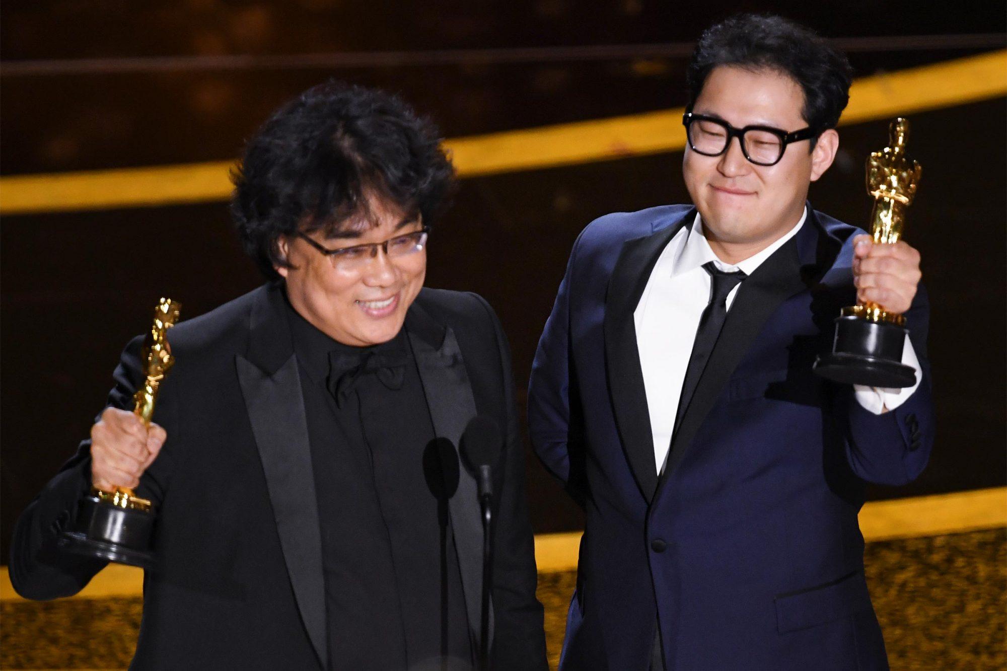 Bong Joon-ho and Han Jin-won