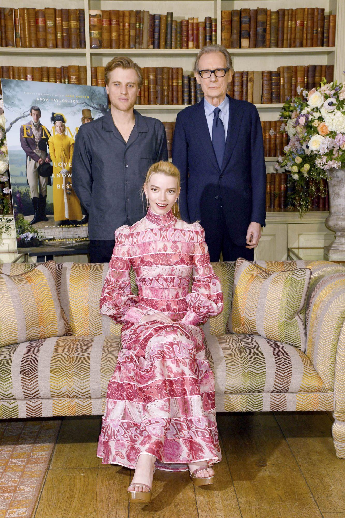 Anya Taylor-Joy, Johnny Flynn and Bill Nighy