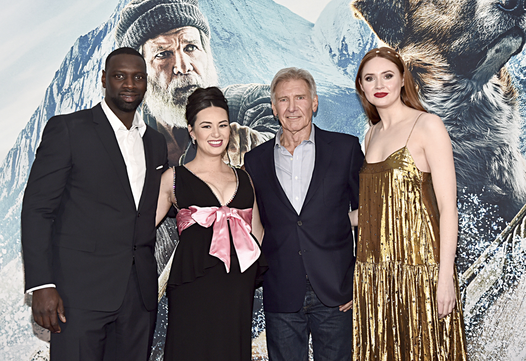 Omar Sy, Cara Gee, Harrison Ford and Karen Gillan