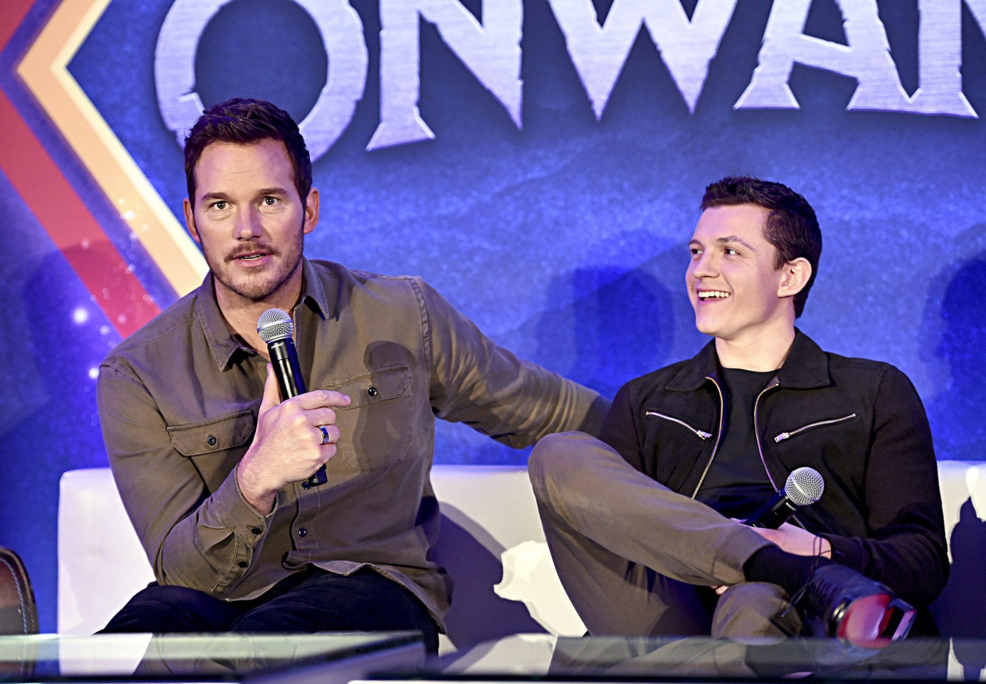 Chris Pratt and Tom Holland