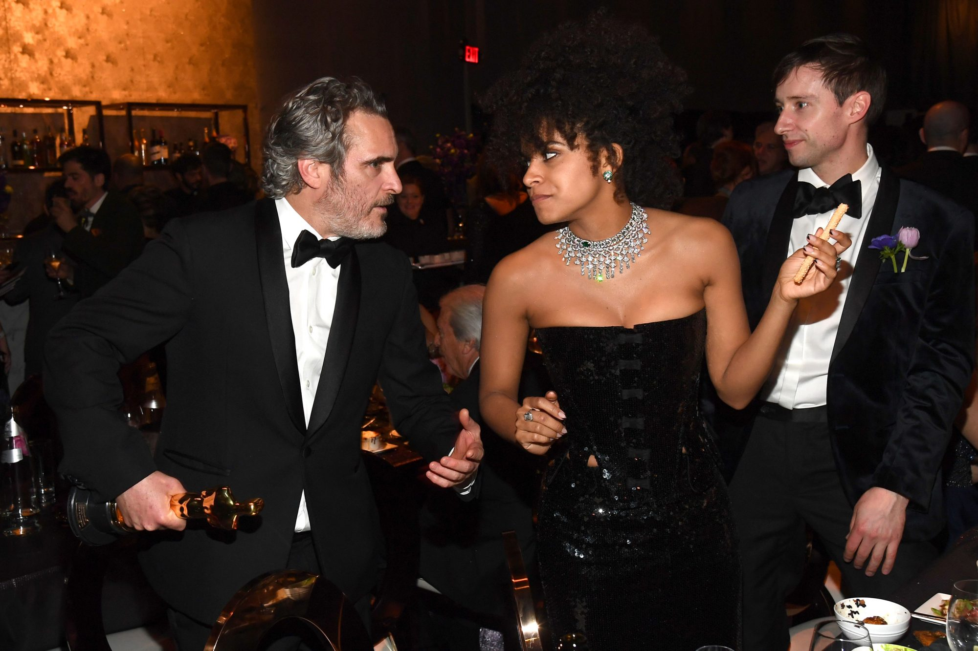 Joaquin Phoenix and Zazie Beetz