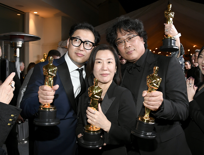 Han Jin-won, Kwak Sin-ae, Bong Joon-ho